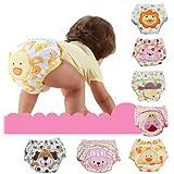 Bañador pañal tela para pañales cubrepañales para pañales a través de pantalones bebé de algodón M - XL (para pañales no incluye los)