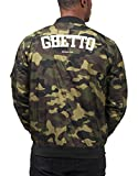 Certified Freak Ghetto Athletics Bomber Giacca Camuffare M