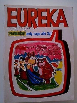 Eureka n.112 1973 (Andy Capp/Colt) Ed.Corno FU05