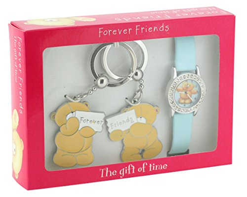Forever Friends Girls Teddy Watch Set With 2