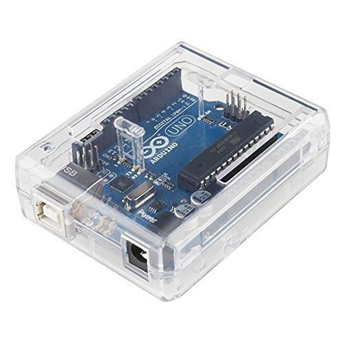 SB Components Uno R3 Case Clear - Caja para Arduino Uno R3, Transparente