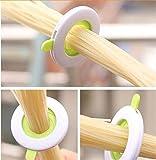 LnLyin Messgerät Nudeln Dosierer verstellbar Portionen Controller Spaghetti Pasta Mess-Werkzeug verstellbar