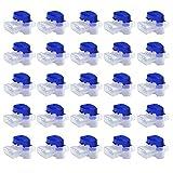 MOWHOUSE Set di 25 Connettori per Robot Tosaerba - Giardino Outdoor Morsetti di Collegamento Impermeabile con Imbottitura in Gel