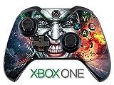 #1: Elton Xbox One Controller Designer 3M Skin for Xbox One, DualShock Remote Wireless Controller - Joker, Skin for One Controller Only