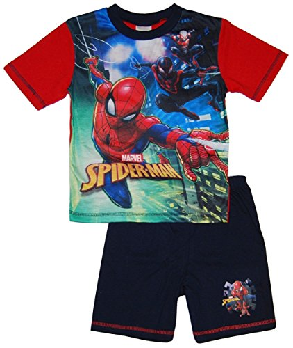 Spiderman Boys Short Summer Pyjamas