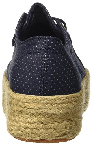 Superga 2790 ~Fabricshirtropew, Sneakers basses mixte adulte Bleu (Blue Indigo Dots)
