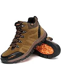 Sneaker alta in pelle color fango/nero - JAKO' (42)