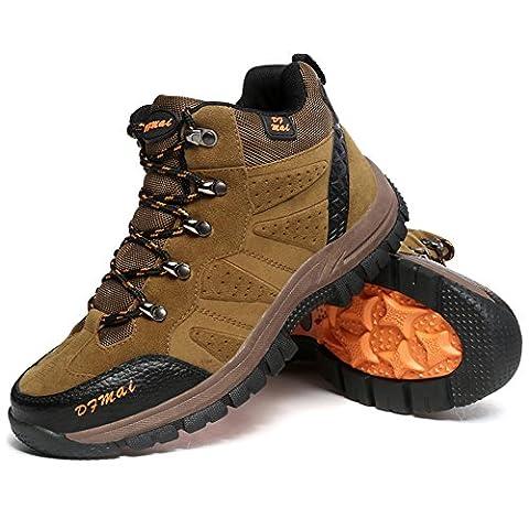 Bottes de randonnée pour hommes Chaussures de montagne de sentiers Randonnée pédestre Camping Bottes de plein air Sneaker Plus Size Available GOMNEAR