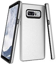 Samsung Galaxy Note 8 Hülle,Nnopbeclik Ultra Slim Fit [PC+TPU] Slim Hybrid Dual Layer Raised Edge Shock Absorption Defender Schutzhülle Rüstung Cover für Samsung Galaxy Note 8 6,3 Zoll