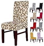 Leetop Premium-Qualität Stretch-Stuhlbezug, Bankett-Stuhlhusse Elastischer Bezug für Stuhl und...