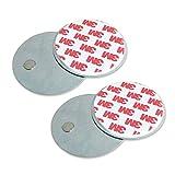 4vwin acoplamiento magnético Soporte para montaje en techo entrada de seguridad alarma timbres inalámbricos o sensores de movimiento fácil instalación [2paquetes]