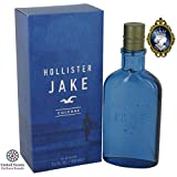 Hollister Jake Blue Cologne 100ml/3.4oz Eau De Cologne Spray Fragrance for Men