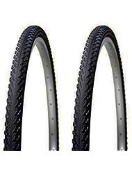 """2x Cubierta Neumatico Antipinchazos Tecnología PRBB para Bicicleta Hibrida Mixta MTB y Trekking 26 """" x 1.90 3707"""