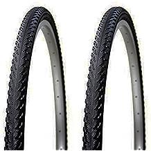 2x Cubierta Neumatico Antipinchazos Tecnología PRBB para Bicicleta Hibrida Mixta MTB y Trekking 26