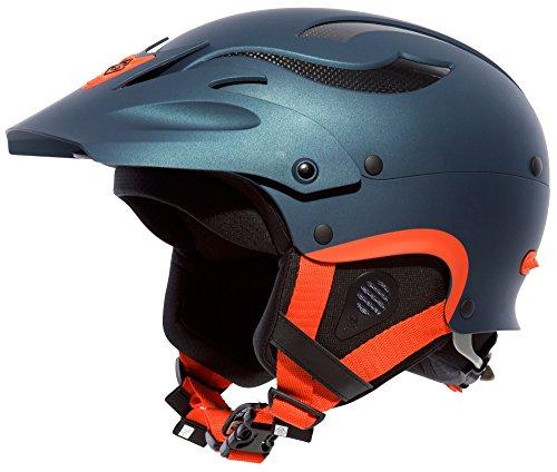 Metallic-rocker (Sweet Protection Rocker Helmet Navy Blue Metallic, L/XL)