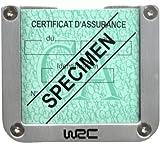 WRC 007378 Porta Tagliando Quadrato Alluminio