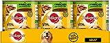 Pedigree Adult Hundefutter Kaninchen und Karotten - Saftiges Geschnetzeltes, 12 Dosen (12 x 800 g)