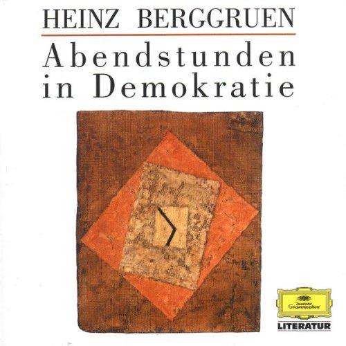 Preisvergleich Produktbild Literatur - Abendstunden in Demokratie (Heinz Berggruen)