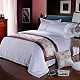 Wine bed five star hotel/bedding article/bed flag/bed runner/bed cover bed foot mat/decorative strip-B 50x210cm(20x83inch)