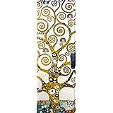Gustav Klimt - El Árbol De La Vida (Detalle) Cuadro, Lienzo Montado Sobre Bastidor (120 x 40cm)