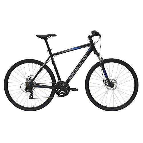 BULLS Wildcross Herrenfahrrad 2018 Crossbike 28' Zoll 21 Gang Shimano, Farbe:schwarz, Rahmenhöhe:54 cm