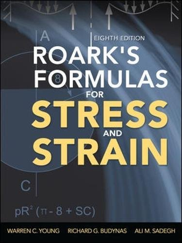 Roark's formulas for stress and strain (Ingegneria)