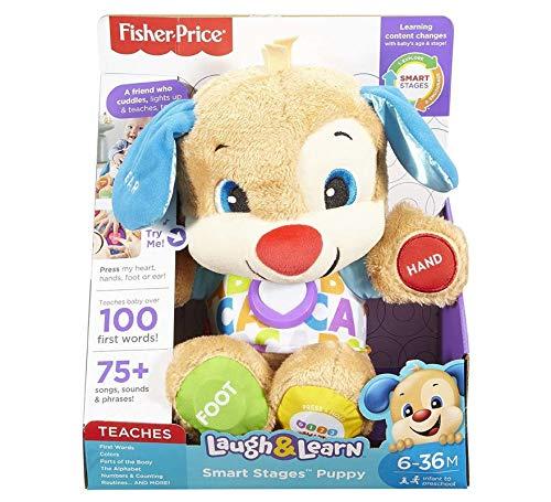 Fisher-Price – Peluche primeros descubrimientos, juguetes bebé 6 meses