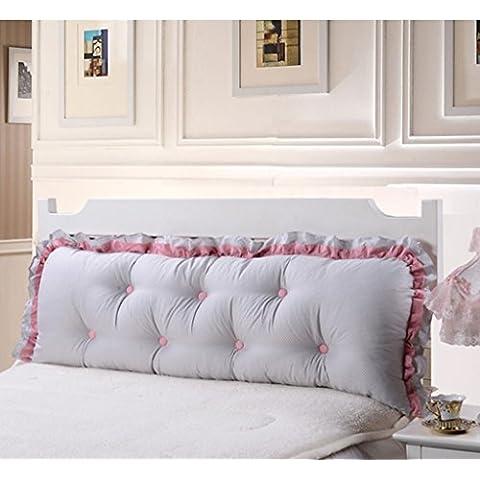 Sun lamps- angolo giro coreana cotone cuscini grandi morbida sul Pad Pacco divano posteriore ( dimensioni : 120*50cm