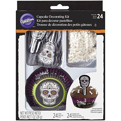 Cupcake Decorating Kit Makes 24-Deadly (Cupcakes Halloween Dekorationen)