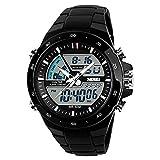 Best Orologi SKMEI Man - SKMEI 1016 puntatore digitale a LED doppio display Review