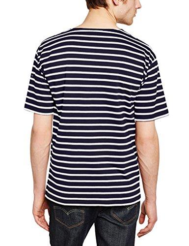 Armor Lux Herren, T-Shirt, 1527 Blau (429 Navire/Nature)