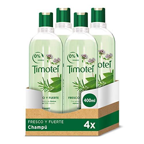 Timotei - Champú Fresco Y Fuerte Hierbas - 400 ml