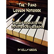 """The"" Piano Lesson Notebook: A Great Resource For Private Music Lessons"