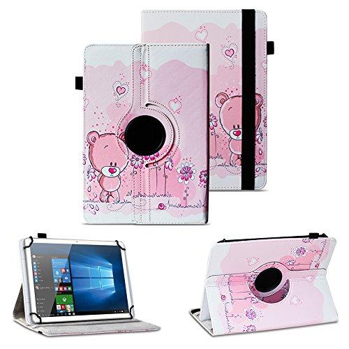 NAUC Tablet Tasche Schutzhülle Telekom Puls Tablet Hülle Tab Cover Case Universal, Motiv:Motiv 1