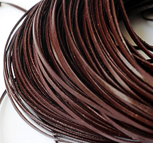 chengyida-10-yards-92-mettergenuine-leather-coffee-flat-cowhide-cord-jewelry-making-3mm