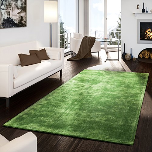 teppich-handgetuftet-modern-qualitat-edel-viskose-garn-schimmer-glanz-grun-grosse10x10-cm