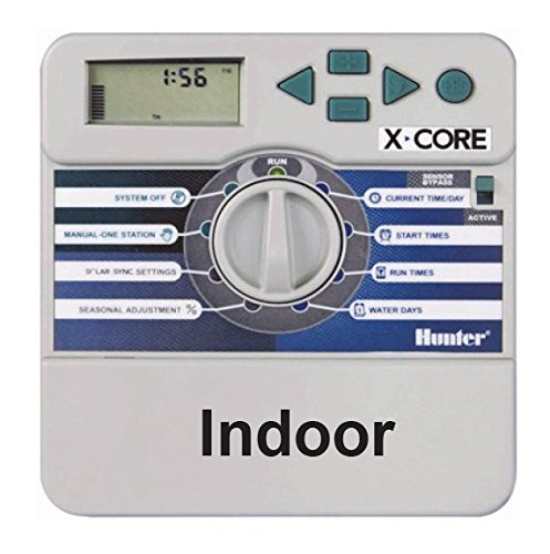 Hunter Ordinateur d'irrigation, X-Core 201I 2 stations, gris, 25 x 17 x 7 cm, na370