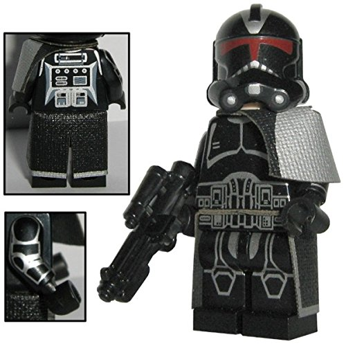 CBD Shadow Clone Trooper - Custom Brick Design Figur gefertigt aus custom & Lego Star Wars - Wars Custom Star Lego