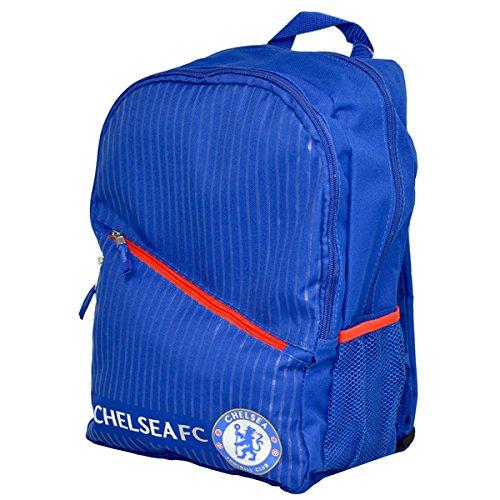 Offizielles Fußball Team Verstellbarer Reißverschluss Tasche Rucksack Rucksack (verschiedene Vereine zur Auswahl.) Chelsea FC
