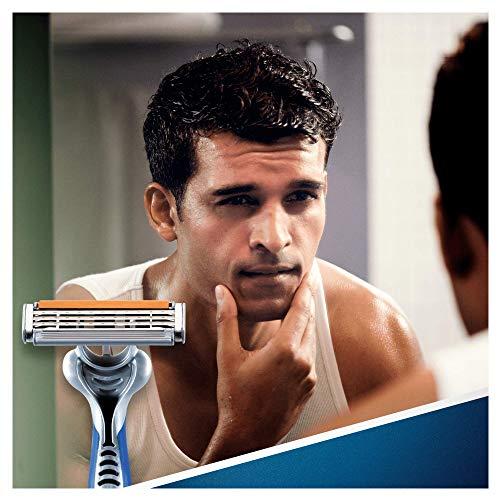 51xpFeqa%2BVL - Gillette Sensor3 Maquinillas desechables para hombre, 4+1unidades