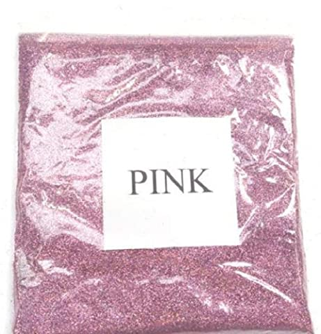 100G HOLOGRAPHIC PINK GLITTER ULTRA FINE 0.008 WINE GLASS ART AND CRAFT NAIL ART SCRAPBOOKING NON