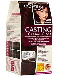 L'Oréal Paris Casting Crème Gloss 360de chocolat de cerisier cherry Black–Coloration moyens
