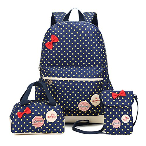 bmertop-lot-de-3-mignon-dot-universit-enfant-kid-sacs-dos-scolaire-mini-sac-main-bourse-sac-bandouli