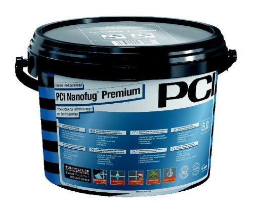 PCI Nanofug Premium Variabler Flexfugenmörtel 5 kg-47 anthrazit