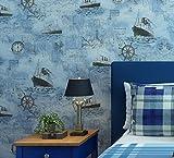 Longless Wallpaper, vert, chambre à coucher, tissu, papier peint, Méditerranée, prix, papier peint, 10*0.53M