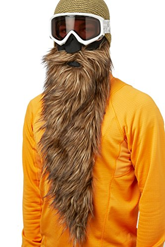 Beardski Big Country masque de ski, masque de snowboard. Protection du Visage, Barbe Faux, Balaclava