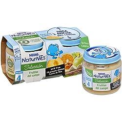 Nestlé Naturnes - Alimento Infantil Puré de Frutas - Paquete de 2 x 200 g - Total: 400 g