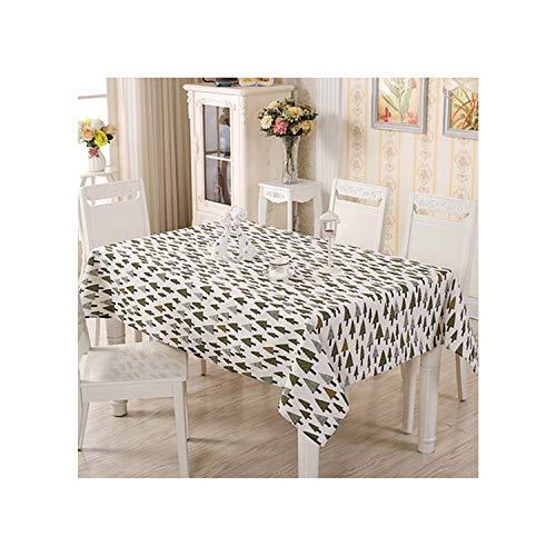 KenFandy Moderne Baumwolle Leinen gedruckt Tischdecke rechteckig Dinner Tischdecke Abdeckung Kaffee-Tee-Tabellen-Ausgangsdekoration, Farbe 2110 * 170cm