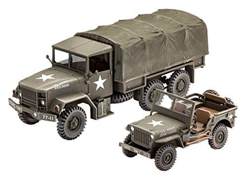 Revell GmbH Revell 03260–M34táctico camión dentro y fuera de la carretera vehículo 1: 35Escala Modelo Kit