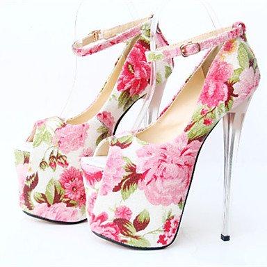 Zormey Damenschuhe 19 Cm Absatzh?he Sexy Peep Toe Stiletto Heel Pumps Party Schuhe Weitere Farben US8.5 / EU39 / UK6.5 / CN40